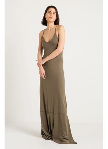 Askılı Uzun Elbise-Love'n Fashion Paris